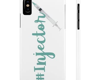 Beauty Injector  Case Mate Slim Phone Cases - injectables, facial filler, filler, botox