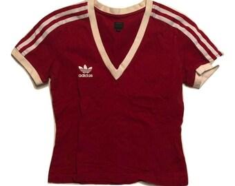 Adidas T Shirt vintage 90s - Women XS