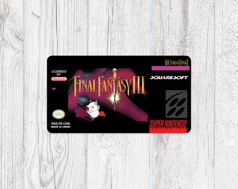 SNES Sticker: Final Fantasy III
