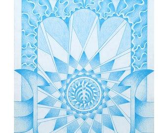 Bassnectar Hamsahand 8x10 Print