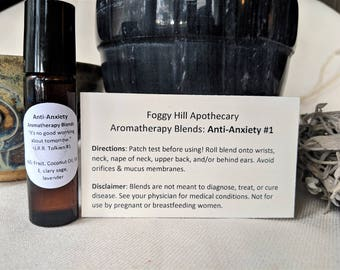 Anti-Anxiety Blend #1: Lavender, Clary Sage
