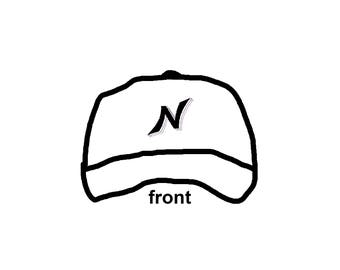 White Signature Hat