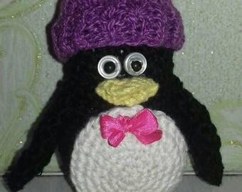 Penguin in a cap