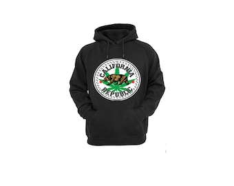 Hoodies for Women and Men California Converse Weed Cotton Pullover Sweatshirt,Unisex California Marijuana Hooded Sweatshirt