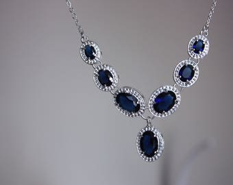 Necklace gemstone