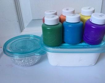 Slime rainbow fishbowl kit