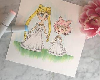 Fan Art Of Sailor Moon