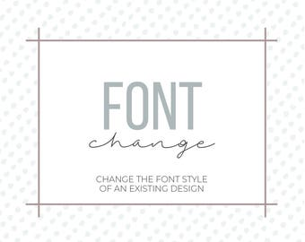 Font Change | Font Style Change | Add-On