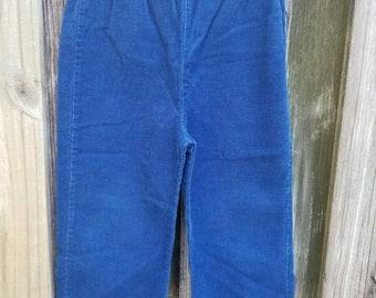 Vintage blue corduroy pants