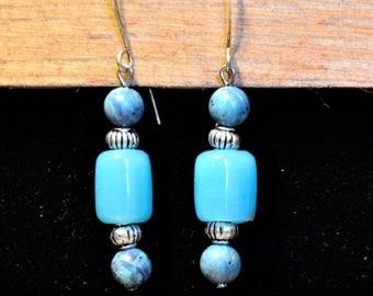 Sea Blue Earrings