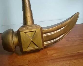 Gideon battlehammer from Seven Deadly Sins