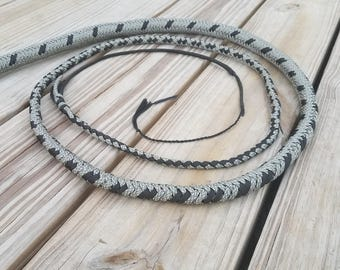 6 ft. 16 plait nylon bullwhip