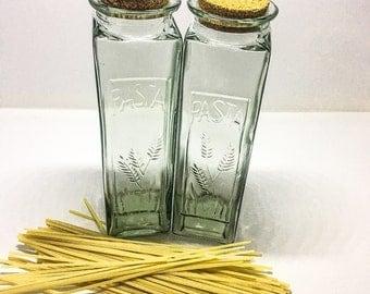 Glass Pasta Container
