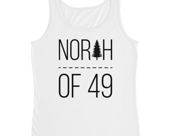 North of 49 Womens' Tank Top - White