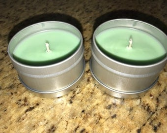 6 oz container candles
