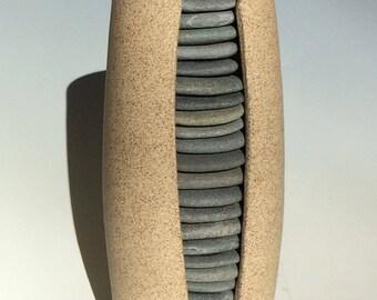 Beach Stone Vessel