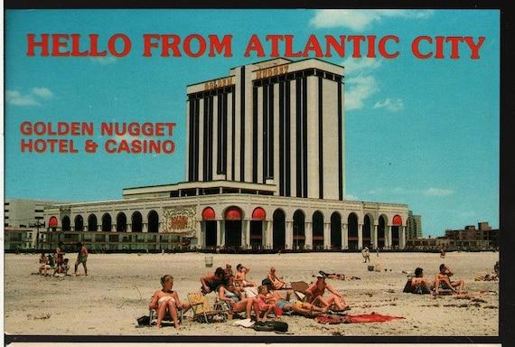 Golden Nugget Hotel & Casino - Atlantic City, New Jersey - Vintage Souvenir Postcard