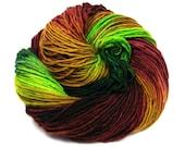 SALE Worsted Wt Singles Yarn, 'Botanica'- Superwash Merino, Nylon 240 yds/3.5 oz