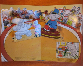 Pop-Up Travels of Babar, The by Jean de Brunhoff