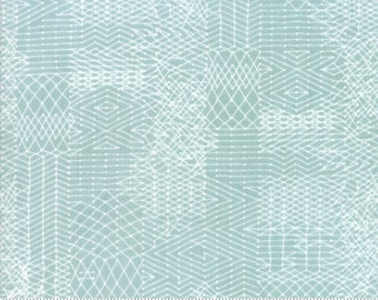 Biscuits and Gravy - You Be You in Fluffer Nutter Blue: sku 30484-16 cotton quilting fabric by BasicGrey for Moda Fabrics