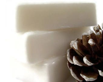 White Christmas Soap Bar, Homemade Soap