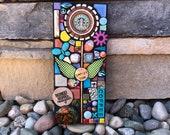 Reduce. Reuse. Recycle. (A Handmade Original Starbucks Cap Series Mixed Media Mosaic by Shawn DuBois)