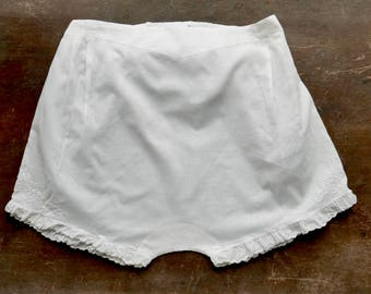 Antique Girl's Cotton Underwear
