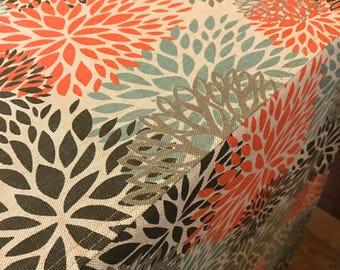 Designer Dog Crate Cover, Floral Linen Cover, YOU Choose Fabric, Crate Cover, Pet Crate Cover, Personalization & Grommets Extra