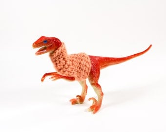 Velociraptor in a Sweater