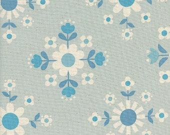 Cotton + Steel Welsummer - florametry - ice - 50cm - PRE-ORDER