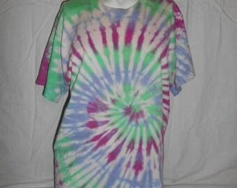 Closing Shop 40%off SALE 80s 90s  vintage  tye dye tie die tee t shirt hippie hippy   Cotton