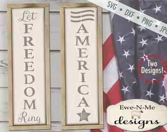 July 4th svg - Summer svg - porch sign svg - Freedom svg - American svg - 4th of July SVG - Independence - Commercial use svg, dxf, png, jpg