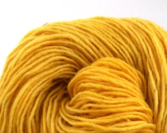 Valkill Hand Dyed DK weight NYS Wool 252 yds 4oz Daffodil