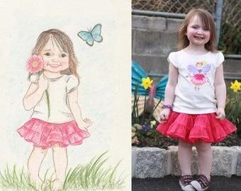 Custom Childrens Art - 9X12