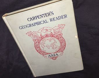 1897 Carpenter's Geographical Reader - Asia