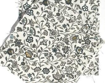Blue Yarrow - IKEA Sigbritt Cotton Fabric Quilting Charm Squares