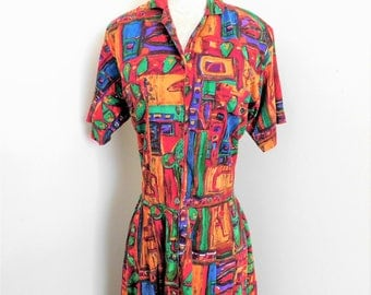 Vintage 80's Monsoon Dress