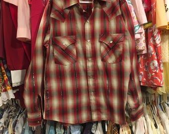 Western Shirt Kids 10/12