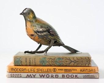 Vintage Tin Toy Bird, Hans Eberl toys, EBO Trili, Germany