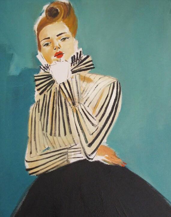 Cybil. Art Print
