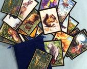 Oracle Card Deck, Animal Totems, Animal Tarot Deck, Storybook Tarot, Wisdom Card Deck, Mary Wimberley, Symbolic Animal Cards, Tarot Artwork