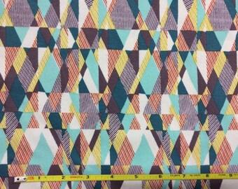 NEW Art Gallery Intertwill Patience on cotton Lycra  knit fabric 1 yard.