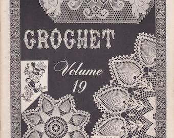 Crochet Volume 19 vintage crochet book