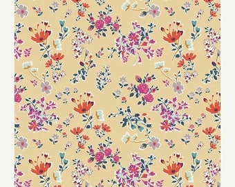 ON SALE Boho Fusions by Art Gallery Fabrics -  Cottagely Posy