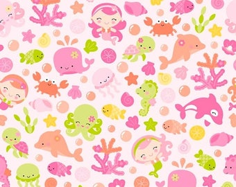 20%OFF Under The Sea By Doodlebug Design Pink Main