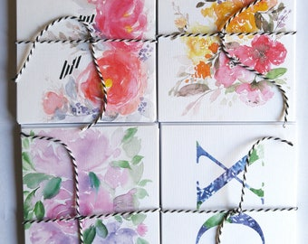 Watercolour Notecards Pack of 8