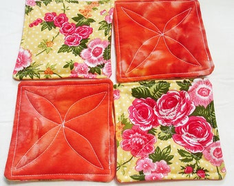 50% OFF Quilted Coasters - Afternoon Tea - WERE 10.00