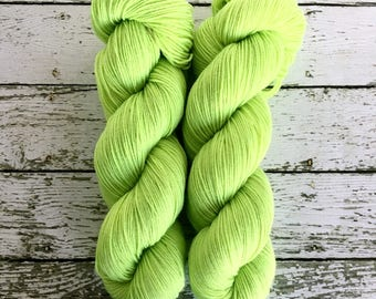 RADIOACTIVE - Seconds Quality - Hand Dyed Yarn - Signature Merino Nylon Sock Yarn Fingering - Ready to Ship - Vivid Yarn Studio