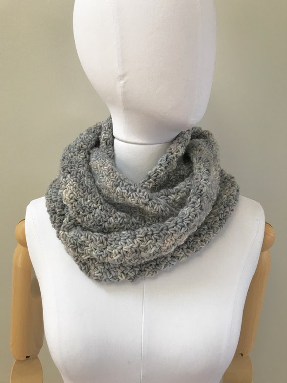 Soft Wool Infinity Scarf
