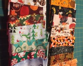 20 Fabric Remnants Destash  Cotton  Fabric Holiday lot 1